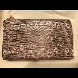 Michael Kors Adele lizard print Smartphone Wallet